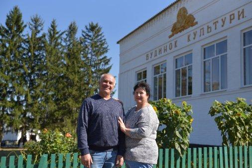 Творчий тандем у Нерубайці: Світлана та Михайло Крощенки