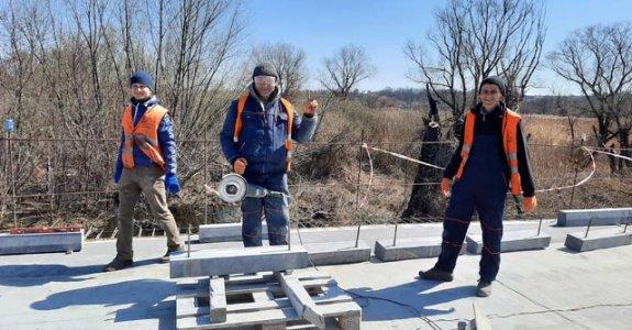 Міст у Великій Висці збираються відкрити до кінця квітня