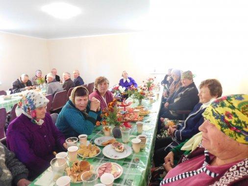 Село Мартинівка вшанувало людей похилого віку